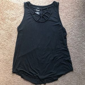 Maurices Women's Large Black Tank Top